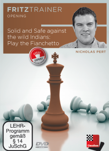 Solid and safe against the wild Indians: Play the Fianchetto