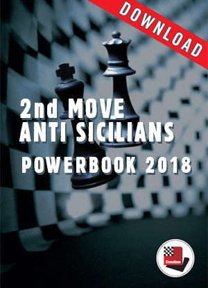 2nd Move Anti-Sicilians Powerbook 2018