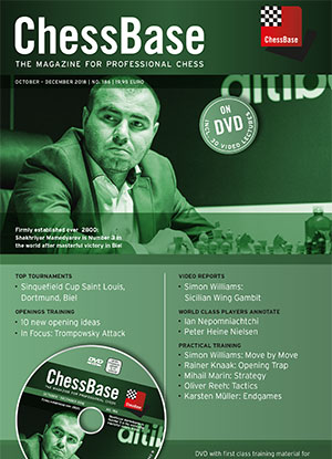 ChessBase Magazin 186
