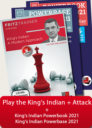 Winning with the King's Indian Attack, King's Indian: A modern approach + Kings Indian Powerbook & Powerbase
