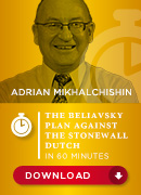 The Beliavsky Plan vs. the Stonewall Dutch