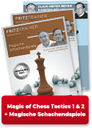 Magische Schachendspiele  +  Magic of Chess Tactics 1&2