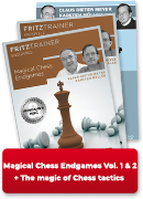 Magic of Chess Tactics Vol. 1 & 2 + Magical Chess Endgames