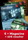 ChessBase Magazin Jahres-Abonnement - 40 Euro Prämie für neue Abonnenten!**