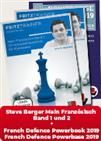Mein Französisch Band 1 und 2 + French Defence Powerbook 2019 & French Defence Powerbase 2019