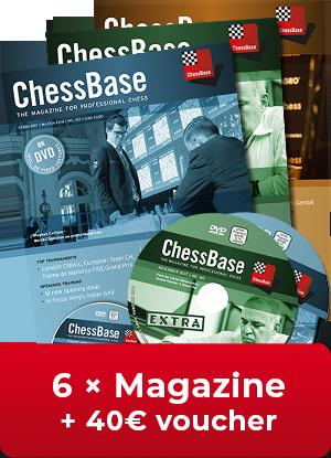 The Strange Ideas Found In Voucher >> Chessbase Magazine One Year Subscription 40 Voucher For First