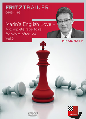 Marin's English Love - A complete repertoire for White after 1.c4 Vol.2