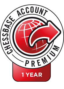 ChessBase Account Premium annual subscription + 1 month