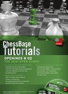 ChessBase Tutorials Openings # 02: The Semi-Open Games