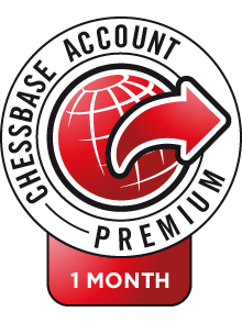 ChessBase Account Premium subscription 1 mes