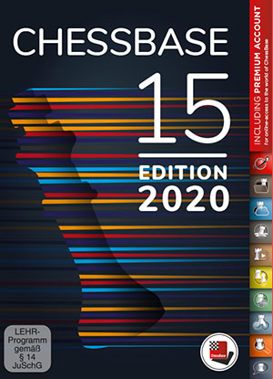 ChessBase 15 - Premium package Edition 2020