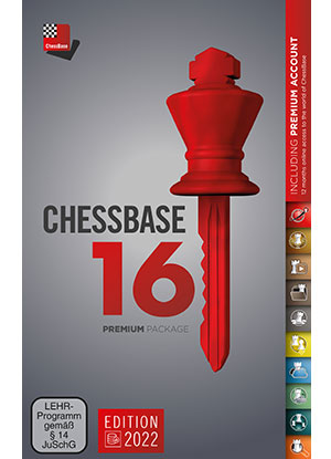 ChessBase 16 - Premium package Edition 2021