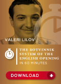 The Botvinnik System in the English opening