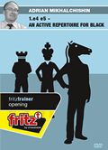 1.e4 e5 - An active Repertoire for Black