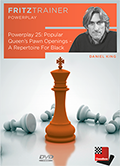 Power Play 25: Popular Queen's Pawn Openings – A Repertoire For Black