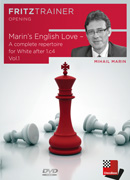 Marin's English Love - A complete repertoire for White after 1.c4 Vol.1