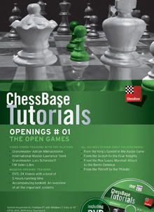 ChessBase Tutorials Openings # 01: The open games
