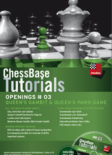 ChessBase Tutorials Openings # 03: Queen's Gambit and Queen's Pawn games