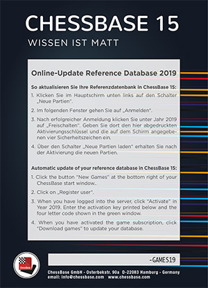 Online-Update Reference Database 2019
