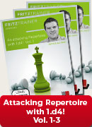 Attacking Repertoire with 1.d4! Vol. 1 - 3