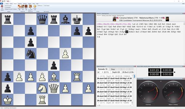 Chess Factory: Komodo 10 1 Chess Base GUI