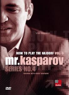 سیسیلی نایدروف توسط گری کاسپاروف جلد 3