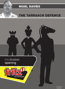 The Tarrasch Defence - Nigel Davies (Full DVD) | Chessbase Fritz Trainer