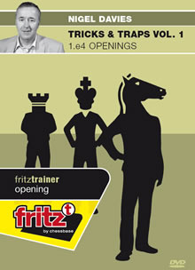 Download Tricks & Traps Vol. 1 - 1.e4 Openings - Nigel Davies | Chessbase Fritz Trainer