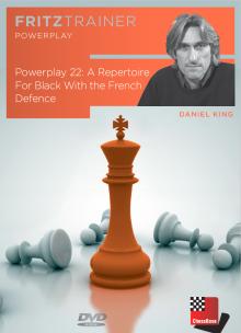 یک مجموعه کامل برای سیاه با دفاع فرانسه،Powerplay 22-A Repertoire for Black with the French Defence