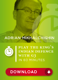 Play the King's Indian Defence with g3