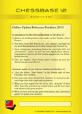 Online-Update Reference Database 2013