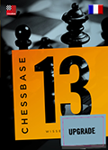 Chessbase 13 Upgrade from version 12 - Version francaise